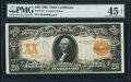 Fr. 1181 $20 1906 Gold Certificate PMG Choice Extremely Fine 45 EPQ