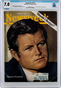 Explorers:Space Exploration, Magazines: Newsweek Dated August 4, 1969, Directly From The Armstrong Family Collection™, CAG Certified and Graded...