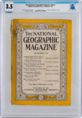 Explorers:Space Exploration, Magazines: National Geographic Dated September 1946, Directly From The Armstrong Family Collection™, CAG Certified...