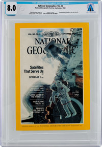 Magazines: National Geographic Dated September 1983, Directly From The Armstrong Family Collection™, CAG Certified