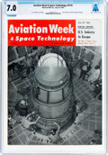 Explorers:Space Exploration, Magazines: Aviation Week & Space Technology Dated July 29, 1963, Directly From The Armstrong Family Collection™, C...