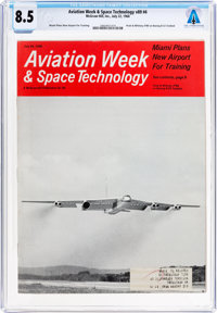 Magazines: Aviation Week & Space Technology Dated July 22, 1968, Directly From The Armstrong Family Collection™...