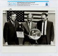 Explorers:Space Exploration, Apollo 11: Original NASA Photo of the Crew at a Pre-Flight Press Conference July 5, 1969, Directly From The Armstrong Fami...