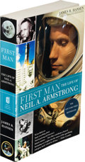 Explorers:Space Exploration, James R. Hansen: First Man, The Life of Neil A. Armstrong Trade Paperback Book Directly From The Armstrong Family ...