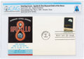 Explorers:Space Exploration, Philatelia: Apollo 8, First Manned Orbit of the Moon First Day Cover Directly From The Armstrong Family Collection™, CAG Certi...