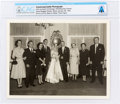 Explorers:Space Exploration, Armstrong Family Personal: Neil and Janet Armstrong's Wedding Day Portrait, 1956, Directly From The Armstrong Family Collectio...