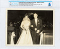 Explorers:Space Exploration, Armstrong-Shearon Wedding Photograph, January 28, 1956, Directly From The Armstrong Family Collection™, CAG Certified....