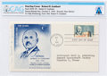 Explorers:Space Exploration, Philatelia: Robert H. Goddard First Day Cancelled Cover Signed by Mrs. Goddard Directly From The Armstrong Family Collection™,...