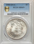 1900-O/CC $1 VAM-8B, Top 100, MS65+ PCGS