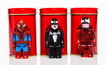 Collectible:Contemporary, Group of Three Spiderman Characters. Painted cast vinyl. 2-1/2 x 1 x 0-1/2 inches (6.4 x 2.5 x 1.3 cm) (each). ... (Total: 3 Items)