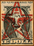 Prints & Multiples:Contemporary, Shepard Fairey (American, b. 1970). This is your God Dollar, 2003. Screenprint on wood. 24 x 17-3/4 inches (61.0 x 45.1 ...