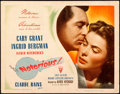 "Movie Posters:Hitchcock, Notorious (RKO, 1946). Fine/Very Fine. Title Lobby Card (11"" X 14"").. ..."