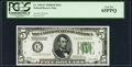 Small Size:Federal Reserve Notes, Fr. 1952-E $5 1928B Federal Reserve Note. PCGS Gem New 65PPQ.. ...