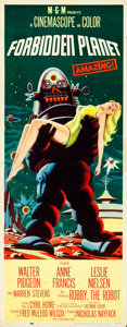 Movie Posters:Science Fiction, Forbidden Planet (MGM, 1956). Rolled, Fine/Very Fine.