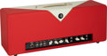 Musical Instruments:Amplifiers, PA, & Effects, 2016 Divided By 13 FTR 37 Red/White Guitar Amplifier, Serial # 3072-620....