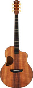 Musical Instruments:Acoustic Guitars, Modern McPherson MG-5.0 XPH Natural Acoustic Guitar, Serial # 0814....