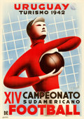 Movie Posters:Sports, XIV South American Championship (Uruguay Tourismo, 1942). ...