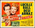 "Movie Posters:Comedy, The Long, Long Trailer (MGM, 1954). Folded, Fine/Very Fine. HalfSheet (22"" X 28"") Style A. Comedy.. ..."