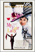 """Movie Posters:Musical, My Fair Lady (Warner Brothers, R-1994). Rolled, Fine+. Trimmed 30th Anniversary One Sheet (Approx. 27.25"""" X 39.75""""). Musical..."""