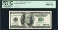 Small Size:Federal Reserve Notes, Fr. 2177-D* $100 2001 Federal Reserve Star Note. PCGS Superb Gem New 68PPQ.. ...