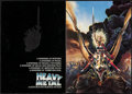 "Movie Posters:Animation, Heavy Metal & Other Lot (Columbia, 1981). Fine/Very Fine. Program (4 Pages, 10.75"" X 15"") & Cut Pressbook (16 Pages, 8.5"" X ... (Total: 2 Items)"