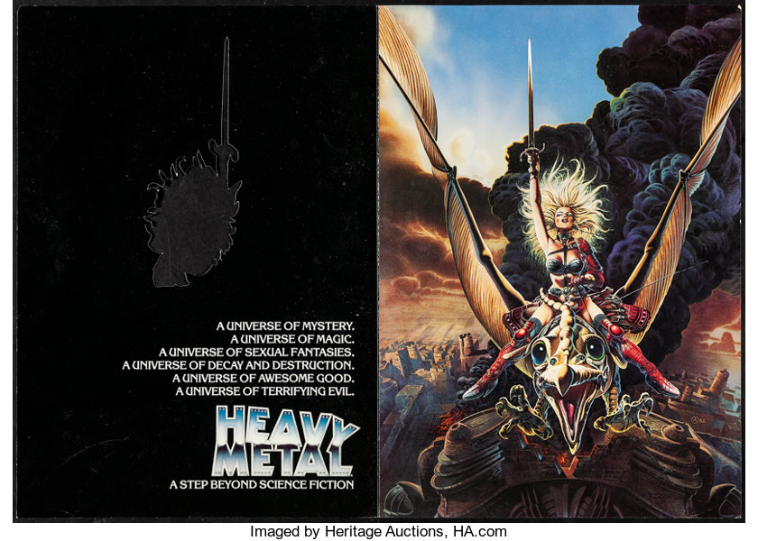 Heavy Metal Other Lot Columbia 1981 Fine Very Fine Program Lot 53176 Heritage Auctions