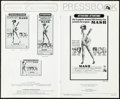"""Movie Posters:Comedy, MASH & Other Lot (20th Century Fox, 1970). Very Fine-. CutPressbooks (3) (Multiple Pages, 8.5"""" X 13.25"""" - 11"""" X 15"""") &Cut ... (Total: 4 Items)"""