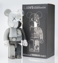 Collectible:Contemporary, KAWS X BE@RBRICK. Dissected Companion 1000% (Grey), 2010. Painted cast resin. 28 x 13-1/4 x 9-1/2 inches (71.1 x 33.7 x ...