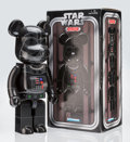 Collectible:Contemporary, BE@RBRICK X Star Wars. Darth Vader 1000%, 2014. Painted cast resin. 28 x 13-1/4 x 9-1/2 inches (71.1 x 33.7 x 24.1 cm). ...