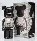 Collectible:Contemporary, BE@RBRICK X Chiaki. My First Be@rbrick B@by 1000% (Black/Silver), 2010. Painted cast resin. 28 x 13-1/4 x 9-1/2 inches (...