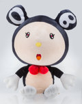Collectible, Takashi Murakami (b. 1962). Mr. DOB XL, n.d.. Polyester plush and stuffing. 40-1/2 x 23-5/8 x 34-5/8 inches (102.9 x 60 ...