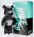 Collectible:Contemporary, BE@RBRICK X Nike. Nike SB 1000% (Black), 2017. Painted cast vinyl. 28 x 14 x 9 inches (71.1 x 35.6 x 22.9 cm). Ed. 75. S...