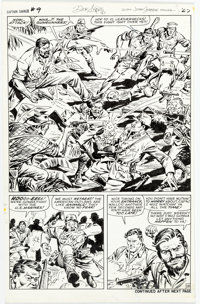 Dick Ayers and John Severin Capt. Savage and His Leatherneck Raisers #19 Story Page 18 Original Art (Marvel Comics