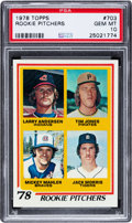 Baseball Cards:Singles (1970-Now), 1978 Topps Jack Morris - Rookie Pitchers #703 PSA Gem Mint 10....