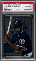 Baseball Cards:Singles (1970-Now), 1995 Bowman's Best Vladimir Guerrero Blue #2 PSA Gem Mint 10....