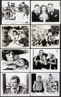 """Movie Posters:Miscellaneous, Photo Box Lot (1930s-1990s). Overall: Very Fine. Photos (Approx. 844) (Approx. 8"""" X 10), Mini Lobby Card Sets of 8 (7) & Min... (Total: 844 Items)"""