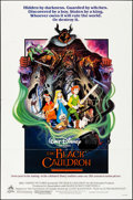 "Movie Posters:Animation, The Black Cauldron (Buena Vista, 1985). Folded, Very Fine-. OneSheet (27"" X 41""). Animation.. ..."