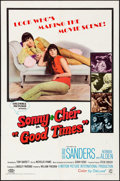 """Movie Posters:Comedy, Good Times (Columbia, 1967). Folded, Very Fine-. One Sheet (27"""" X41""""). Comedy.. ..."""