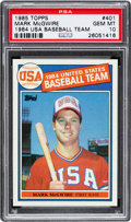 Baseball Cards:Singles (1970-Now), 1985 Topps Mark McGwire #401 PSA Gem Mint 10....