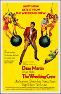 "Movie Posters:Action, The Wrecking Crew (Columbia, 1969). Folded, Very Fine-. One Sheet (27"" X 41""). Robert McGinnis Artwork. Action.. ..."