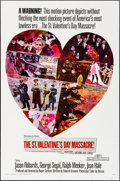 """Movie Posters:Crime, The St. Valentine's Day Massacre & Other Lot (20th Century Fox, 1967). Folded, Very Fine-. One Sheets (2) (27"""" X 41""""). Crime... (Total: 2 Items)"""