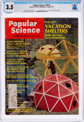 Explorers:Space Exploration, Magazines: Popular Science Dated August 1971, Directly From The Armstrong Family Collection™, CAG Certified and Gr...