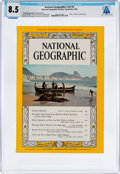 Explorers:Space Exploration, Magazines: National Geographic Dated September 1962, Directly From The Armstrong Family Collection™, CAG Certified...