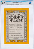 Explorers:Space Exploration, Magazines: National Geographic Dated February 1958, Directly From The Armstrong Family Collection™, CAG Certified ...
