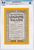 Explorers:Space Exploration, Magazines: National Geographic Dated February 1959, Directly From The Armstrong Family Collection™, CAG Certified ...