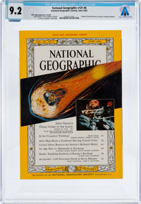 MAGAZINES: National Geographic Dated June 1962, Directly From The Armstrong Family Collectio