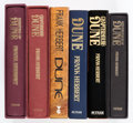 Books:Miscellaneous, Frank Herbert Dune-Related Books Group of 6 (Putnam/Victor Gollancz, 1981-99).... (Total: 6 Items)