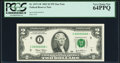 Small Size:Federal Reserve Notes, Low Serial Number Fr. 1937-I* $2 2003 Federal Reserve Star Note. PCGS Very Choice New 64PPQ.. ...