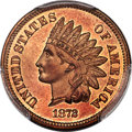Proof Indian Cents, 1872 1C PR66 Red PCGS....
