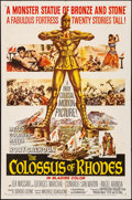 """Movie Posters:Adventure, The Colossus of Rhodes & Other Lot (MGM, 1961). Folded, Overall: Fine/Very Fine. One Sheets (2) (27"""" X 41""""). Adventure.. ... (Total: 2 Items)"""